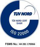 Gelatomio - ISO 22000